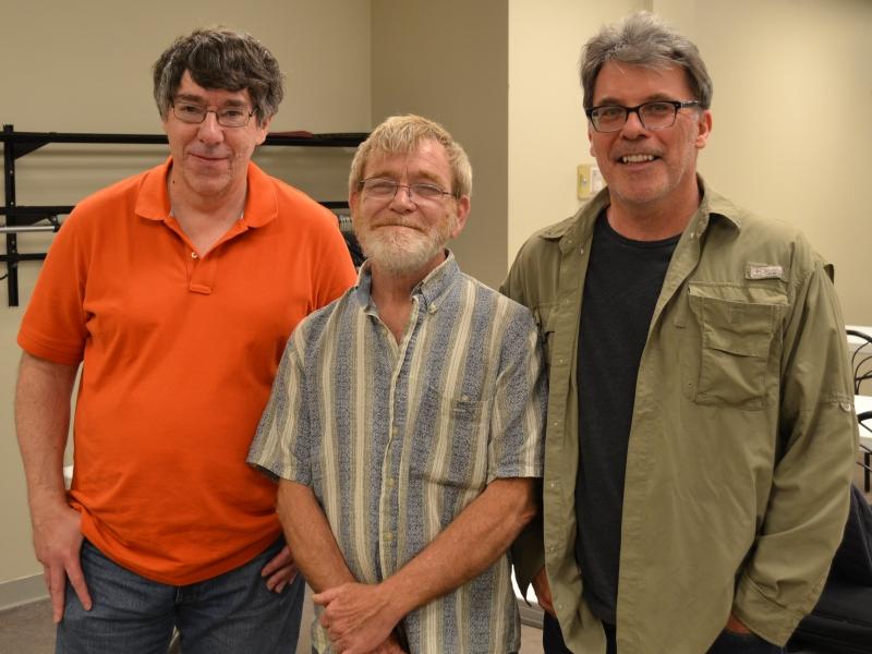 Champions (from left): FM Dave Sprenkle, Joe Revnell, Dan Sajkowski.